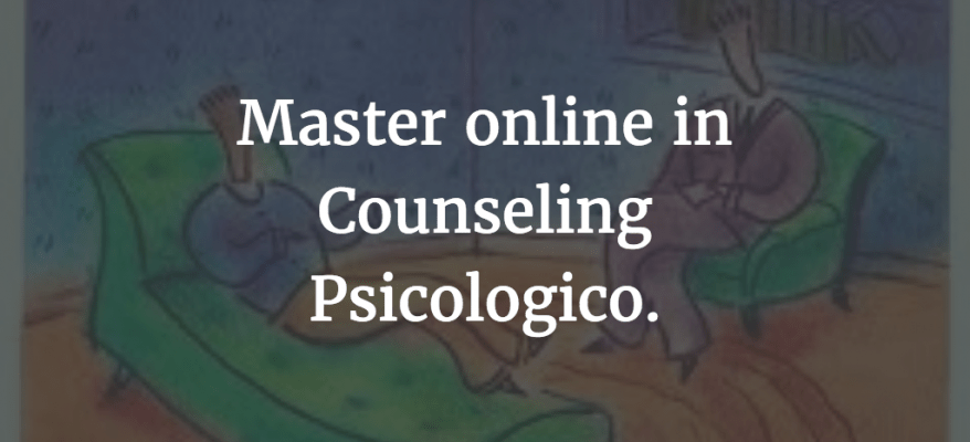 Master online in Counseling Psicologico a Grosseto.